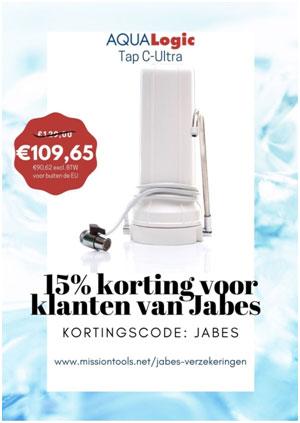 Jabes sponsor waterfilters