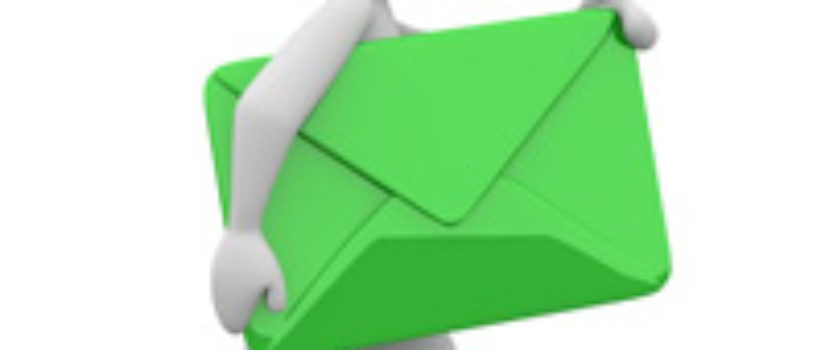 Bij voorkeur per email