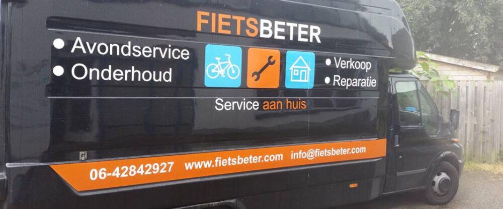 De mobiele werkplaats van FietsBeter