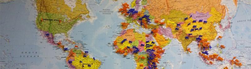 Zendelingen op de kaart