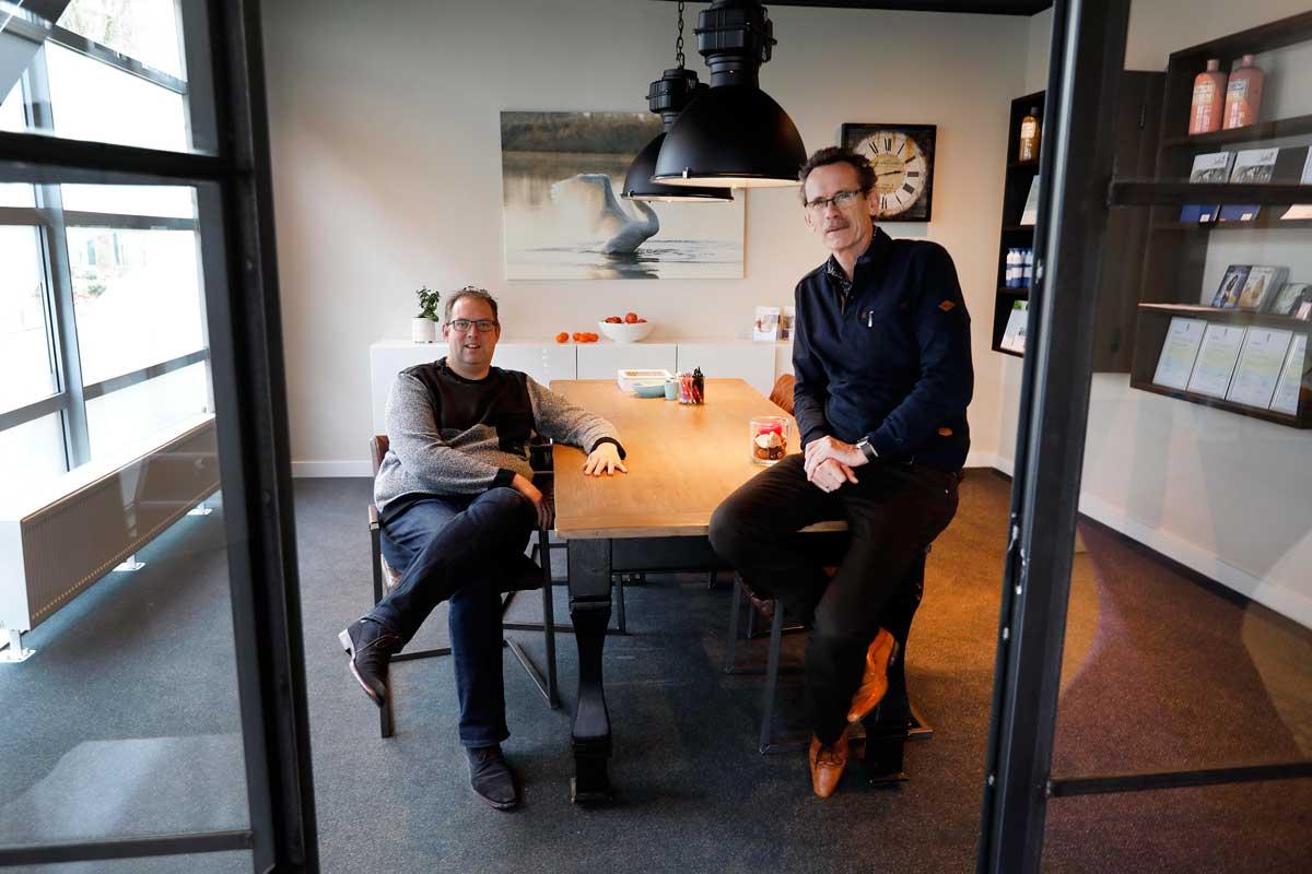 Adviseurs Hilko en Jan Ties van Jabes