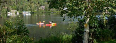 Met de kayaks op pad in Frankrijk