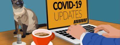 Thuis blijven door Covid19