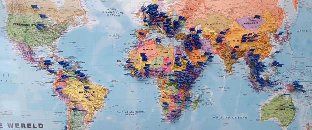 Jabes Verzekerd Zendelingen in meer dan 90 landen