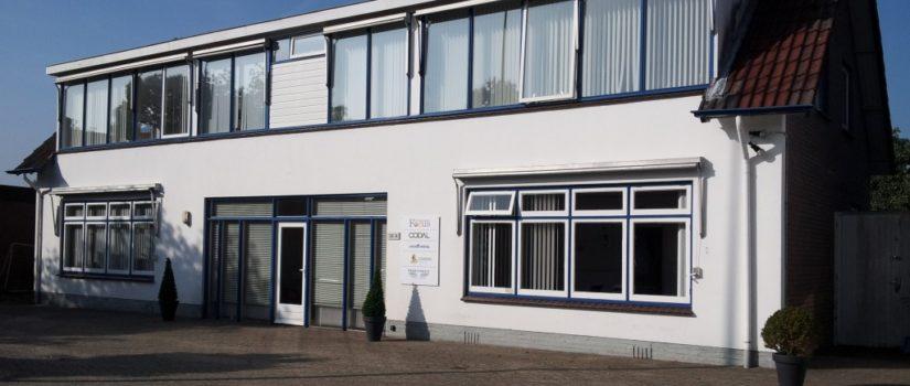 Het kantoor van Focus verzekeringen, in Ermelo